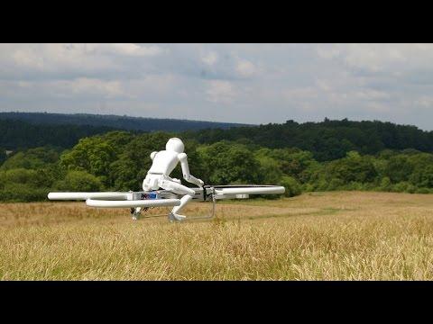 il primo hoverbike: la bicicletta volante del futuro!