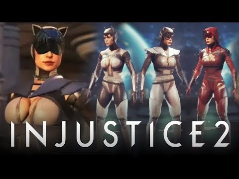 Injustice 2: Original Catwoman & Black Canary Models, Gear & Shaders REVEALED! (Injustice 2) (видео)