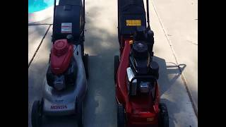 8. Honda HRR216 VS  Toro HD Commercial 21