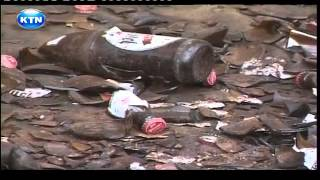 Ajabu: Kenyans dash for free accident beer