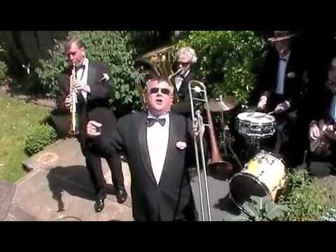 wedding jazz band - Jazz band for wedding. Here is Dan and the Chaps. What a band! singing and playing to their hearts content! Vintage Jazz, great songs, totally unplugged and ...