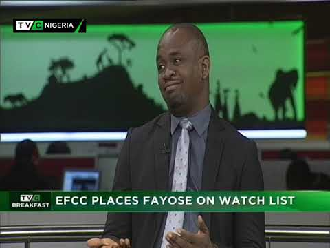 TVC Breakfast 18th Sept. 2018   EFCC places Fayose on Watch List (видео)