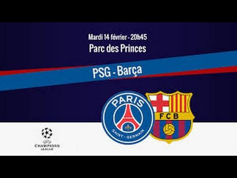 psg barça 4-0 resumé bein sport (видео)