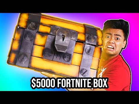 UNBOXING a $5000 DIAMOND Fortnite Mystery Box!