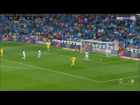 هدف مباراة ريال مدريد وفيلاريال  (13 - 01  -2018 )  Villareal vs Real Madrid 1- 0