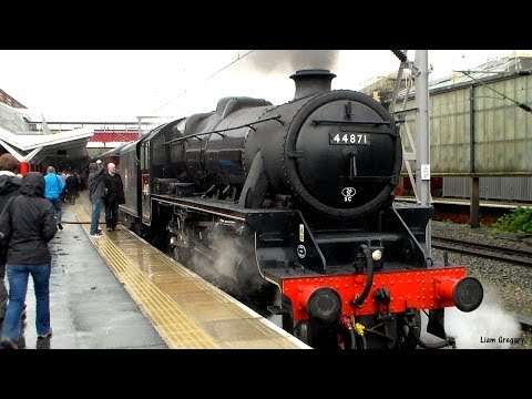 A fantastic morning + early afternoon at Crewe Station. 5th April 2014