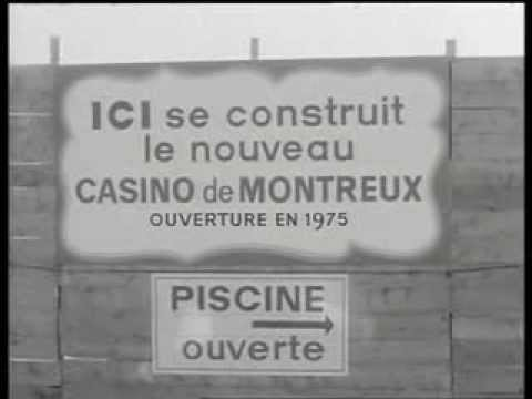 The Montreux Casino site following the infamous fire in December 1971