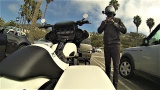 8. Hittin' Pacific Coast Highway on a 2018 Harley-Davidson Street Glide Special
