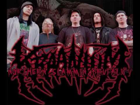 Kraanium - Sodomie Lacerate And Murder online metal music video by KRAANIUM