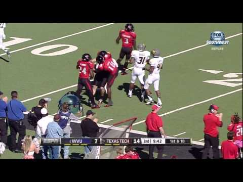 Jace Amaro Long Catch and Run vs. #5 WVU (2012) video.