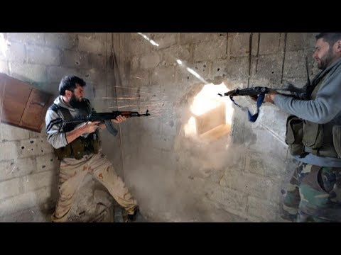18 Война в Сирии - жестокие городские бои Алеппо