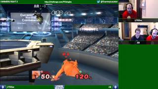 AR (Falco/Fox) vs UTDZac (Charizard/GnW) – Really good set!