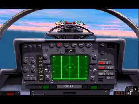 F-14B Tomcat vs F-16A Fighting...