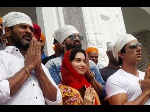 Devil-crew-visits-Golden-Temple-Amritsar-Prabhu-Deva-Tamanna-Sonu-Sood-AL-Vijay