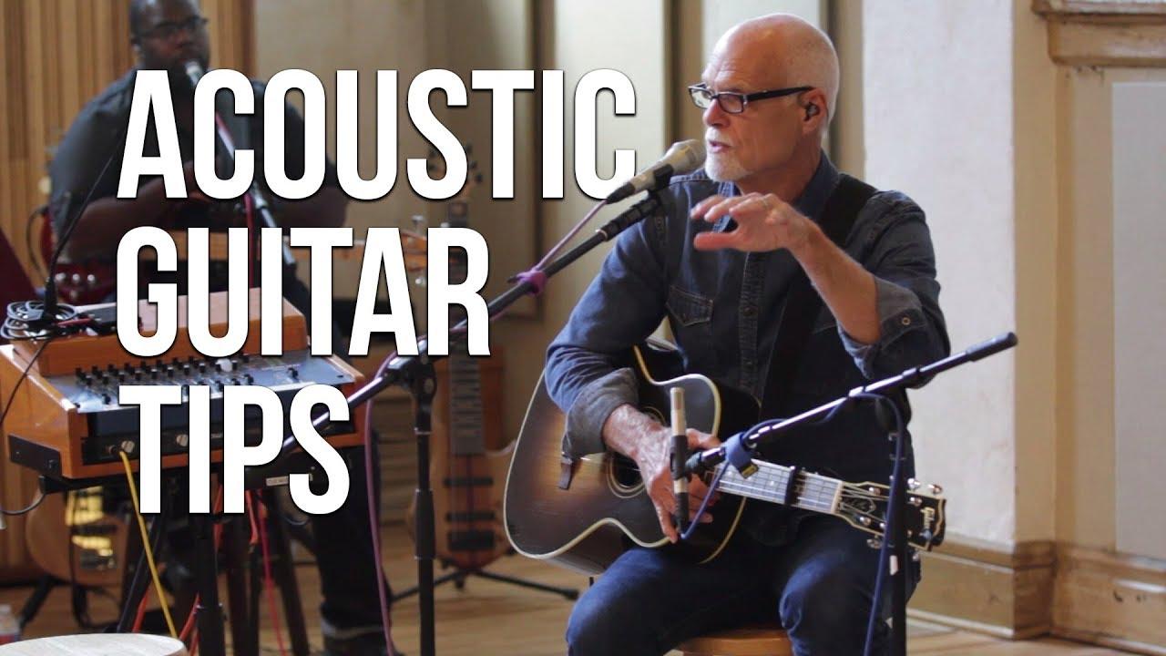 Acoustic Guitar Tips ft. Lenny LeBlanc | Worship Band Workshop