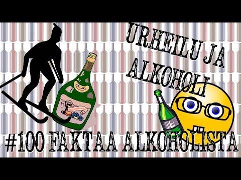 Alkoholi ja urheilu | #100faktaaalkoholista - 27