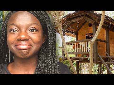 I Lived In A Tree House For 24 Hours