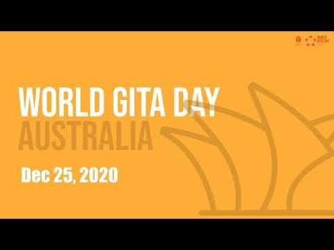 World Gita Day 2020 Celebrations - Australia