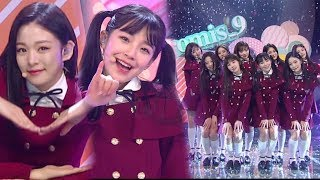 《Debut Stage》 fromis 9(프로미스나인) - To Heart @인기가요 Inkigayo 20180128