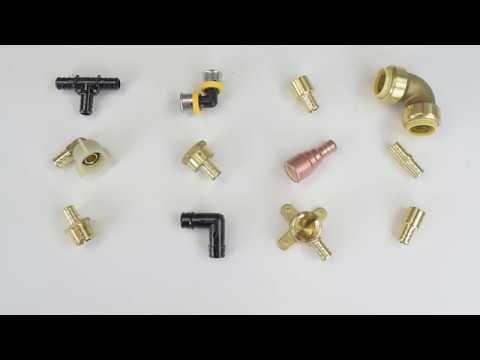 Types of PEX Fittings