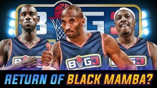 So the latest hype that's been going around is this professional 3 on 3 basketball league called the BIG3. It features ex NBA ...