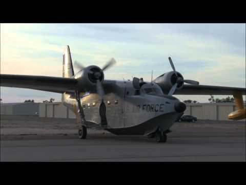 Grumman HU-16B Albatross departures...
