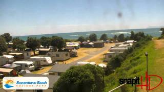 Waihi Beach Webcam Monday 17th January 2011