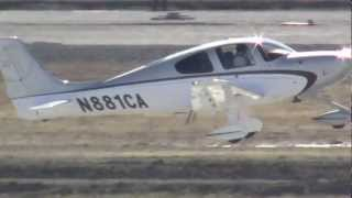 N881CA Departure At KCMH 26 February 2012