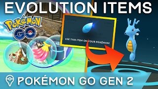 HOW TO GET GEN 2 EVOLUTION ITEMS IN POKÉMON GO (& OTHER GEN 2 TIPS) by Trainer Tips