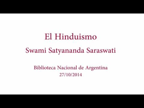 Swami Satyananda Saraswati ha pronunciado una conferencia sobre el hinduismo en Buenos Aires