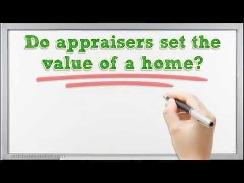 Chicago Appraiser – Do Appraisers Set The Value Of A Home? – 773.800.0269