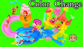 Video Color Changing Mermaids Disney Little Kingdom Ariel + Sisters Water Play - Cookieswirlc Videos MP3, 3GP, MP4, WEBM, AVI, FLV Agustus 2018