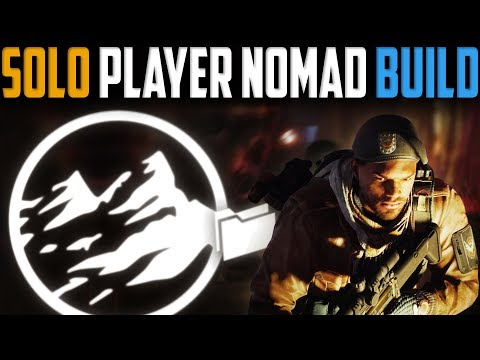 The Division | My Solo Player Nomad Build | Patch 1.8 (видео)