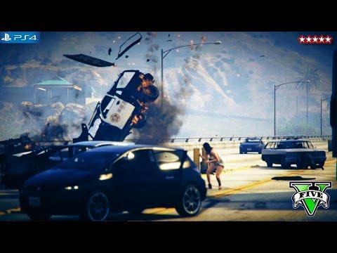 GTA 5 Next Gen: ATTACKING THE MILITARY BASE!!! – GTA V Funny Moments