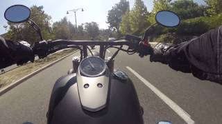 6. GoPro Hero 3+ Honda Shadow Phantom 2012 Ride in Mission Viejo