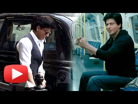 Shah Rukh Khan SPOTTED At Train Station
