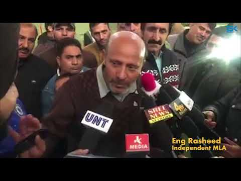 Ready to even talk to Hafiz Saeed for resolution of Kashmir issue: Er Rasheed