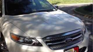 2012 Ford Taurus Review, Walk Around, Start Up&Rev, Test Drive