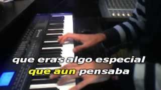 El mundo Sergio Dalma Karaoke instrumental Acustico con letra Calamusic Studio