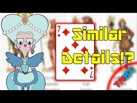 SvTFoE: The Cards And Their Similarities To The Queens! Coincidence!? | TNBT