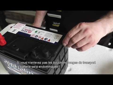 comment remplir batterie sans entretien