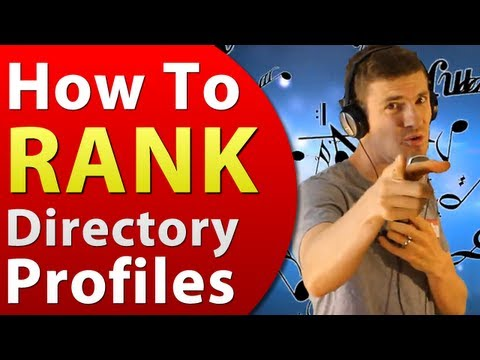 Watch 'How To Rank Your Directory Profiles - Small and Local Business Marketing'
