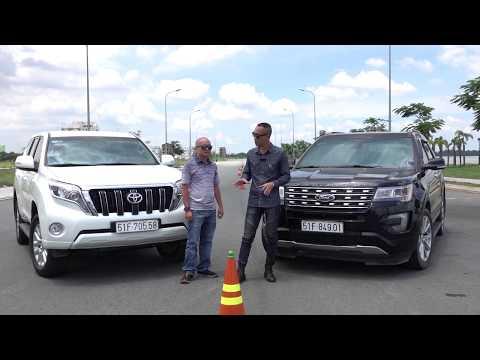 Đánh giá so sánh Ford Explorer vs Toyota Prado