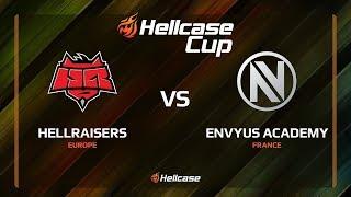 HellRaisers vs EnVyUs Academy, map 2 inferno, Hellcase Cup 6