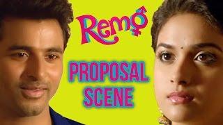 Video Remo - Proposal scene | Sivakarthikeyan |  Keerthy Suresh | P. C. Sreeram MP3, 3GP, MP4, WEBM, AVI, FLV Maret 2018