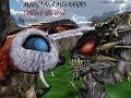 MMD Godzilla - Mothra and MegaGuirus Staring Contest (Funny)