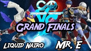 Liquid Nairo (Falco) vs Mr. E (Marth/Sheik) Smash 4-Ever 30 Grand Finals
