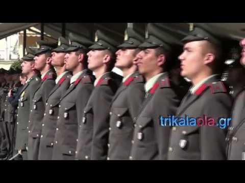 Video - Οι Αυριανοί Υπαξιωματικοί, Σπουδαστές της ΣΜΥ ψάλλουν τον Εθνικό ύμνο και σείεται ο τόπος