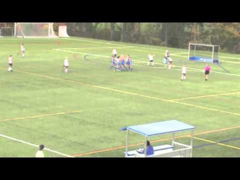 Caroline Less Goal vs. Moravian - 11/2/13