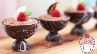 Chocolate Mousse Recipe - 2 Ingredients And OH SO EASY! | My Cupcake Addiction